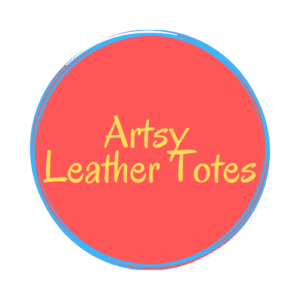 ARTSY LEATHER TOTES